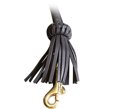 Fashion Rolled Leather Dog Leash 4 foot Round lead for all dogs