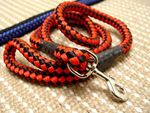 Adjustable Cord nylon dog leash for large dogs- dog lead for walking