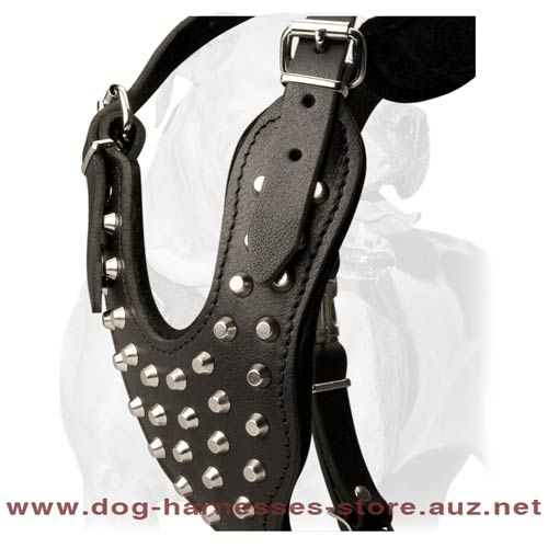 Cool And Awesome Leather Dog Harness