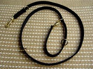 Adjustable All weather police dog leash multifunctional