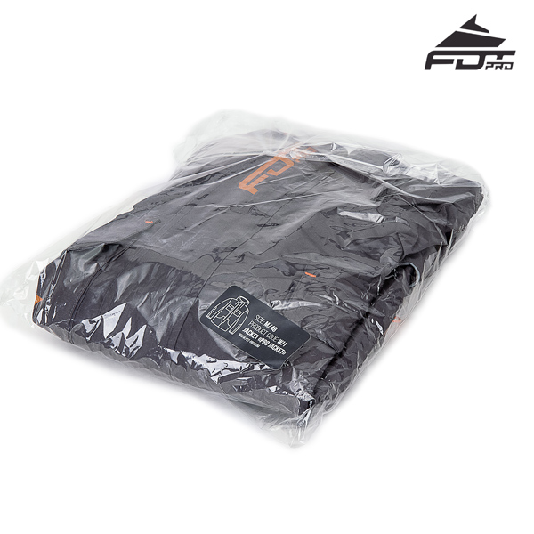 FDT Pro Dog Tracking Jacket with Reliable Velcro Patches