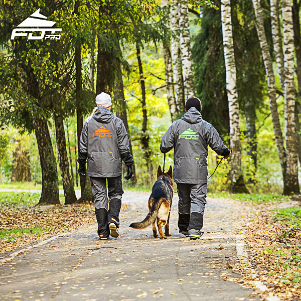 FDT Pro Dog Trainer Jacket of Finest Quality for Everyday Activities