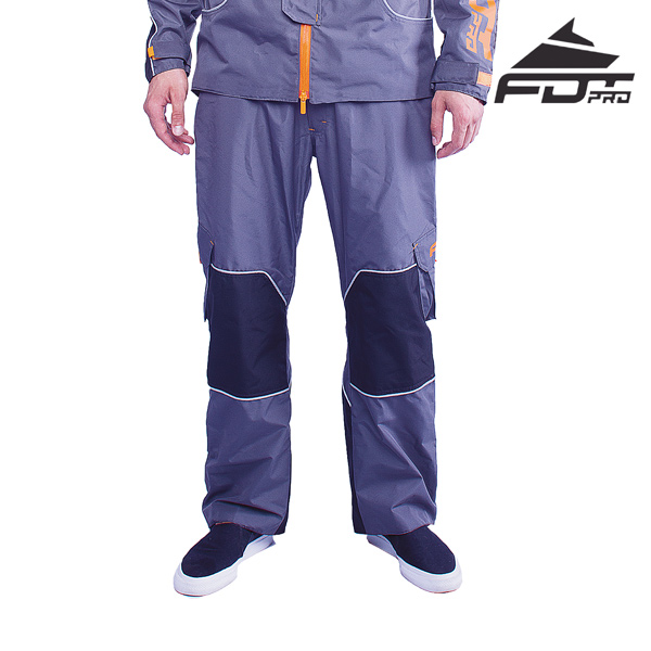 Pro Pants Grey Color for Cold Seasons
