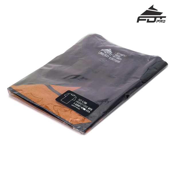 Filled Pro Design T-shirt of Dark Grey