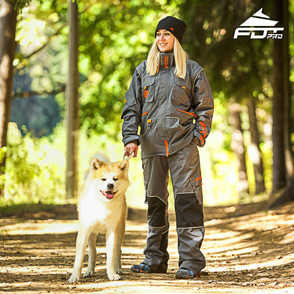Men and Women Design Dog Trainer Jacket of Finest Quality Materials