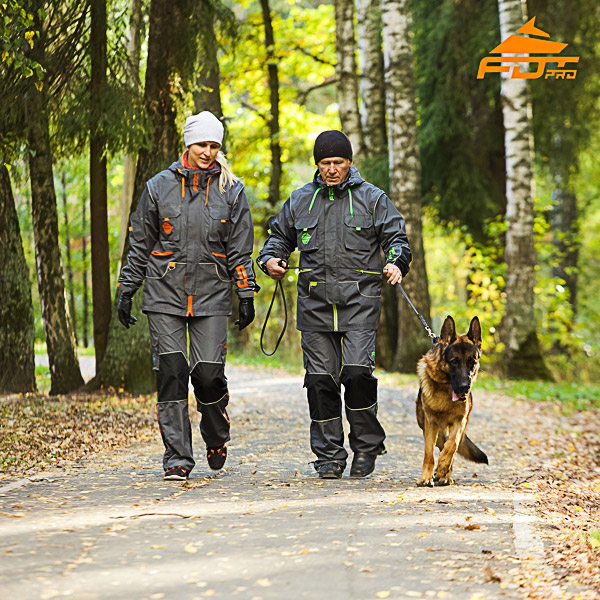 Any Weather Conditions Top Rate Dog Training Suit for Men and Women