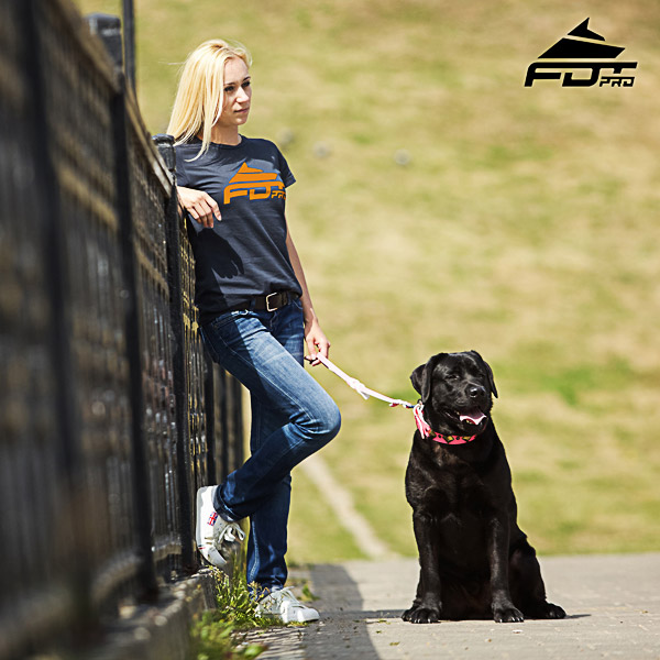 Women T-shirt of Durable Cotton for Dog Trainers